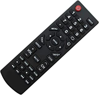 Replacement Remote Control Fit for Dynex DX-19E220A12 DX-24E310NA15 DX-L32-10A DX-L26-10A DX-R20TR LCD LED HDTV TV