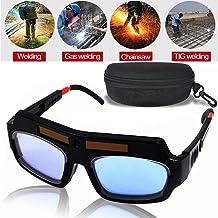 LEATBUY Welding Glasses Mask Helmet Eyes Goggles, Solar Auto Darkening Welding Goggle..