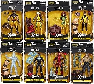 Marvel Legends X-Men Wave 1 Juggernaut BAF 2016 SET 8 6``Figure Deadpool In Hand .HN#GG_634T6344 G134548TY70789