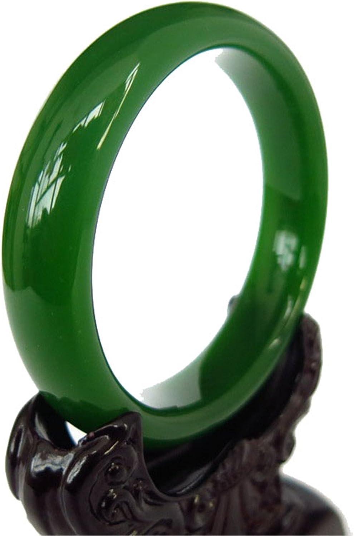 100/% Natural Hetian Green Jade Nephrite Feng Shui Bracelet