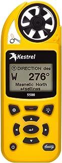 Kestrel 5500 Pocket Weather Meter - Yellow (Part #0855Yel By Kestrel)
