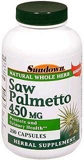 Sundown, Saw Palmetto 450 Mg Capsules Value Size, 250 ct