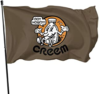 NA Boy Howdy! CREEM mag Decorative Garden Flags, 3 X 5 Ft Flag For Outdoor Indoor Home Decor