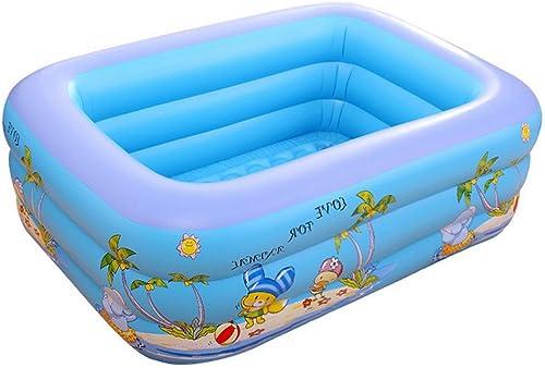 AOOPOO Baby Pool Planschbecken 140 x 100 x 50 cm