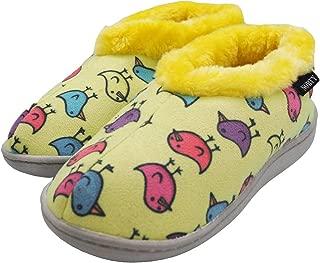Toddler/Little Kid/Big Kid Girls Fleece Memory Foam Slip On Indoor Slippers