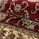Teppich Orientteppich Wohnzimmer Klassische Optik Orientalisch Ornamente Rot, Maße:200 cm x 290 cm - 7