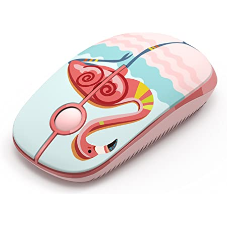 Mouse wireless, Jelly Comb Mouse wireless 2.4 GHz per laptop/tablet, preciso e silenzioso (Fiammingo)