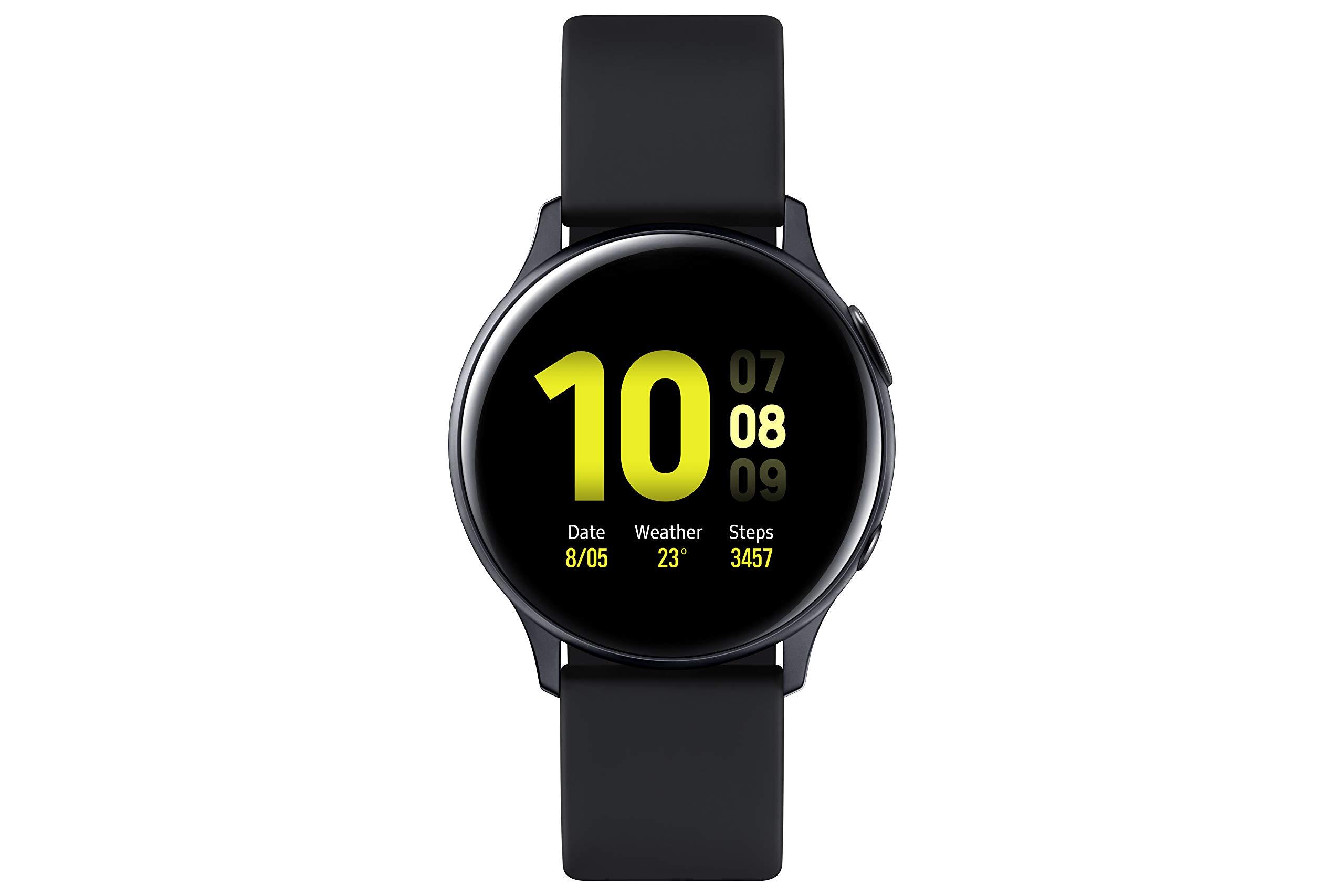 SAMSUNG SM-R830NZKAPHE Galaxy Watch Active 2 - Smartwatch de Aluminio, 40mm, Color Negro, Bluetooth [Versión española]: Amazon.es: Electrónica