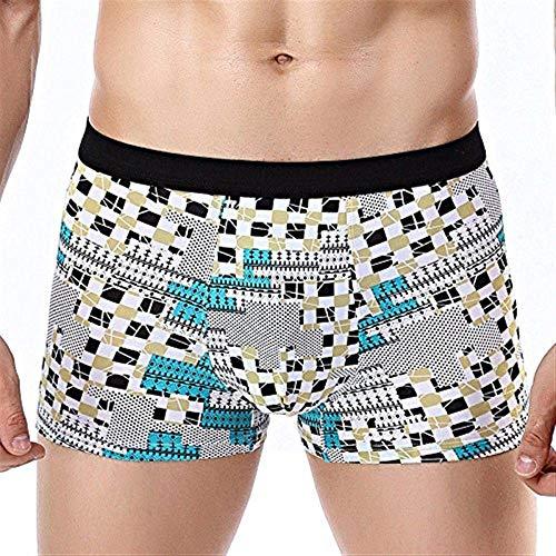 Saoye Fashion Pantalones Cortos De Boxeador De Algodón para Hombre Calzado De...