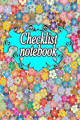 Checklist Notebook: for Daily and Weekly Layout Chaos Coordinator Undated Notebook Organizer Simple to-do lists with top priority, 110 pages