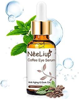 Contorno de Ojos Antiarrugas Antiojeras Hidratante y Remescar Bolsas Facial Mujer & Hombre con Acido Hialuronico Aloe V...