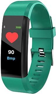smartwatch inteligentny pasek pulsometr tętno krwi inteligentny zegarek fitness tracker opaska na nadgarstek dla iOS Andro...