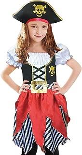 pirate little girl costume