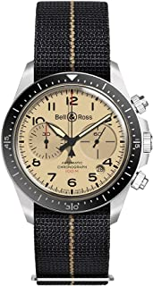 Bell and Ross - cronógrafo reloj automático de los hombres BRV294-BEI-ST/SF