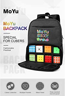 RONSHIN Rubik Fashion Backpack for Magic Puzzle Cube Storage