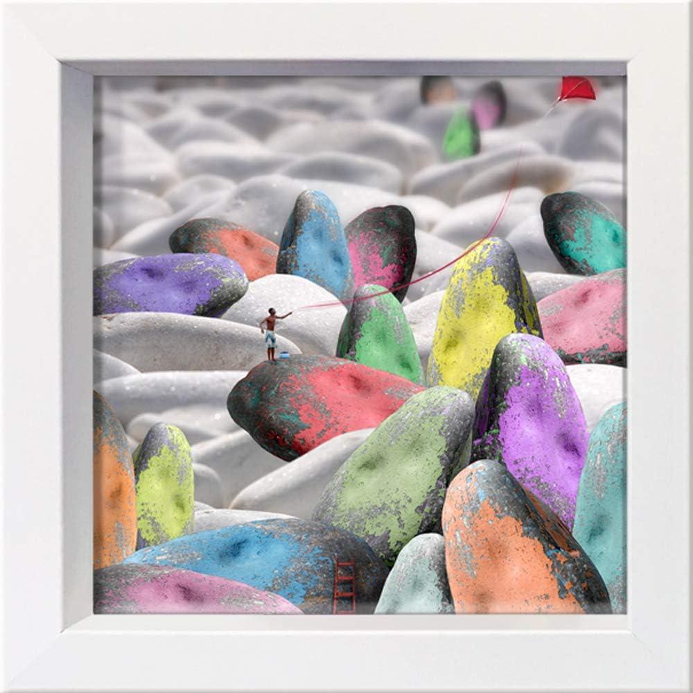 International Graphics Framed Postcard - MAILO Year-end gift E M-L Kansas City Mall VAREILLES