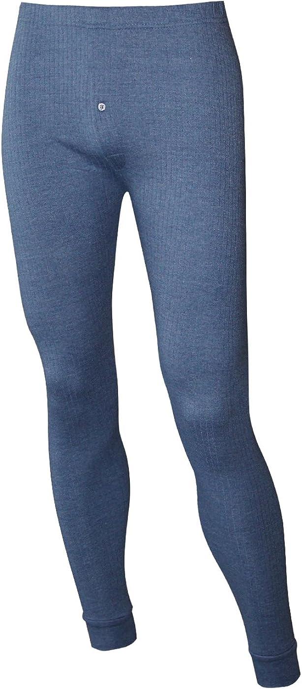 Moonline nightwear Thermo Unterw/äsche Ski-Unterw/äsche Funktionshemd lang Unterhose Lang Unterhemd lang f/ür M/änner aus Baumwolle
