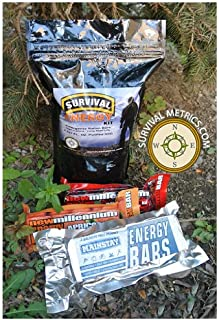 Advanced Survival Ration Kit - 2,000 Calorie - With Water Pouch