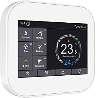 24V WiFi Home Automation 3 Heat 2 Cool Fan Coil Smart Thermostat