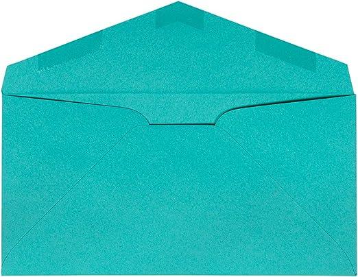 Azul Marino Reciclado 98,4 x 190,5 mm JAM PAPER Sobres de color Monarch 50 por Paquete