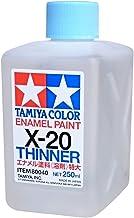 タミヤ カラー エナメル エナメル溶剤特大 (X-20 250ml) 80040
