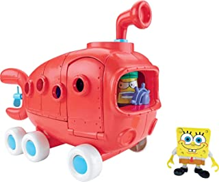 Imaginext Bob Esponja Ônibus Da Fenda Do Biquini Mattel