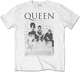 T-Shirt # L Unisex White # Stairs [Import]