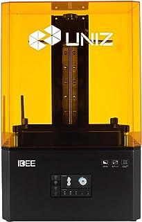 """UNIZ IBEE Stampante 3D LCD, stampante UV-Curing SLA resina 3D con 8.9"""" 4K (3840x2400) e schermo monocromatico da 4,3"""" Touc..."""