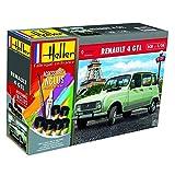 Outletdelocio. Heller 56759. Maqueta Coche Renault 4L. Kit de montaje. Pinturas y pegamento...