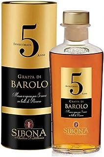 Antica Distilleria Sibona Grappa di Barolo 5 anni 44% vol 1 x 0,5l
