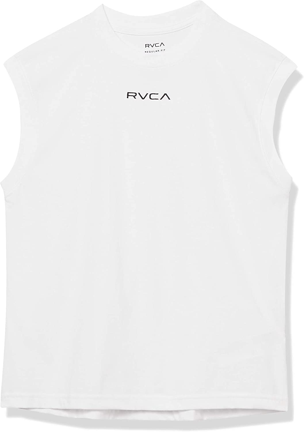 RVCA Women's Graphic Muscle Crew Neck T-Shirt