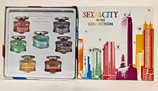 Sex in the City 7 Piece Mini Collection perfume set