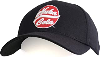 Bioworld Fallout Nuka Cola Brimmed Baseball Hat Black, Medium