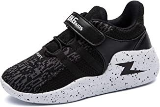 ONEKE Sneakers Running Shoes for Boys Girls Kids Athletic Walking Adjustable Strap Sports Shoes Toddler Little Kid Big Kid