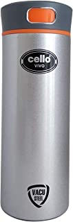 Cello Vivo Stainless Steel Flask, Silver, 400 ml