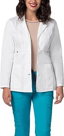Adar Pop-Stretch Junior Fit Women's 28 Tab-Waist Lab Coat