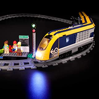 BRIKSMAX Led Lighting Kit for City Passenger Train - Compatible with Lego 60197 Building Blocks Model- Not Include The Lego Set