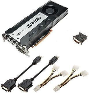 Nvidia Quadro K6000 12GB GDDR5 PCIe 3.0 x16 GPU Kepler グラフィックス処理ユニット ビデオアダプター 900-52081-0050-000 699-52081-0500-200