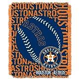 MLB Houston Astros 'Double Play' Woven Jacquard Throw Blanket, 48' x 60'