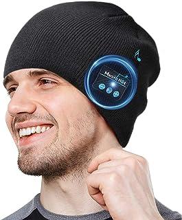 COTOP Gorro Bluetooth 5.0 Regalos Originales, Regalo para Hombres, Mujeres, cálido y Suave Gorro de Invierno con música y ...