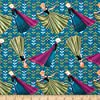 """1/2 Yard - Disney Frozen """"Coronation Day"""" on Teal Blue Cotton Fabric - Officially Licensed (Great for Quilting, Sewing, Craft Projects, Quilt, Throw Pillows & More) 1/2 Yard X 44"""" #1"""