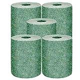 SSQIAN Tappeto Biodegradabile per Semi D'erba per Cerotti per Cani Fertilizzante Giardino Picnic Prato Coperta Ecologica Rilievo di Piantagione del Prato Inglese di Giardinaggio (1000 * 20cm,5 PCS)