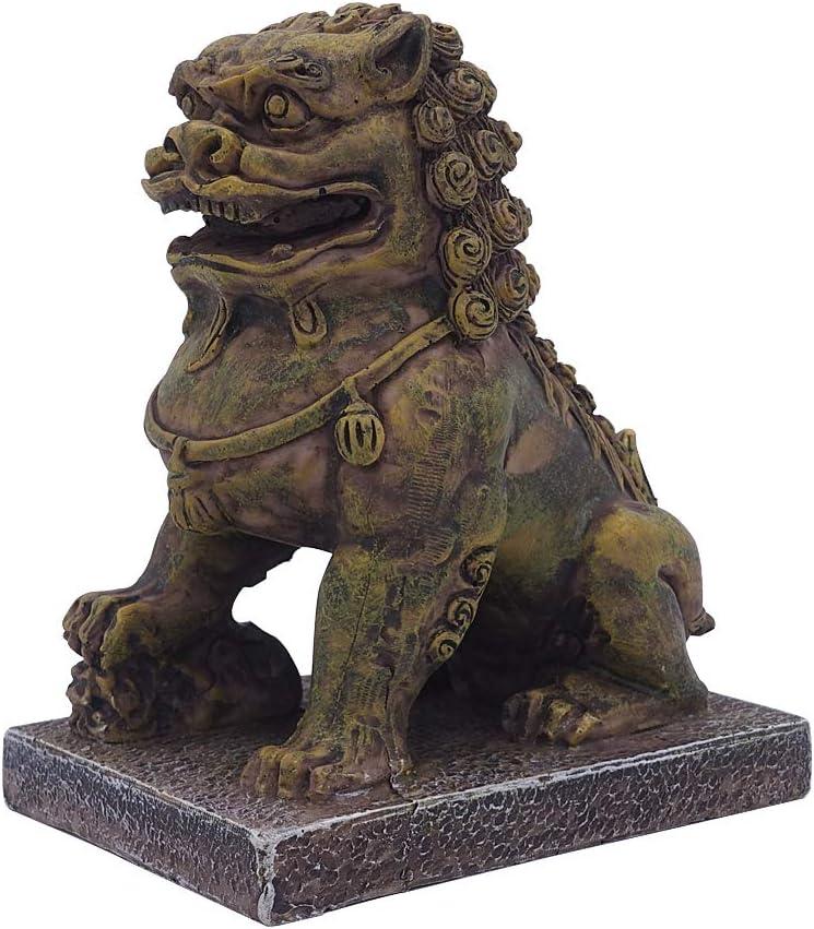SOYEAHZ Aquarium Decoration Resin Crafts Rock Ornament Buddha Statue Decorations for Betta Fish Tank Decor