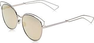 نظارة شمسية سايدرال 2 من ديوربلون وردي JA0 بعدسات عاكسة بتصميم عين القطة، الفئة 2