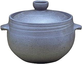 FCSFSF Estufa,Japonés Olla De Arroz Donabe,Casserole De Cerámica,Hot Pot,Clay Pot,Cerámica Olla De Arroz con Tapa,Sopa Caliente,No-Palo Olla para Guisar A 8l