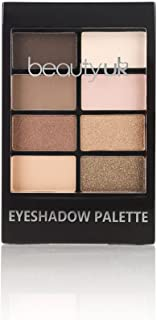 Beauty UK - PRO Hi-TECH Maximum Intensity and Long-Lasting Formula - Professional Eyeshadow Palette no.2 Matte and Shimmery Warm Neutrals/Nude - PIN UP