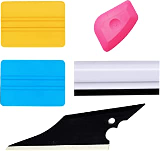 GUGUGI Car Vinyl Installation Tool Kit for Film Vinyl Wrap Window Tint Includes Film Squeegees, Wrap Scrapers, Rubber Squeegee Water Blade