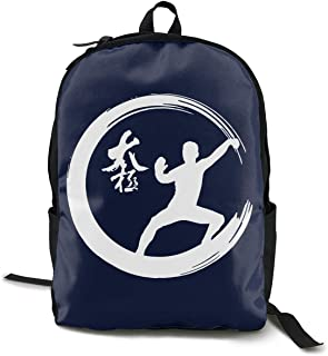 Enso Circle Tai Chi Martial Arts Adult Mens Womens Unisex Sport Fashion Style Shoulders Bag