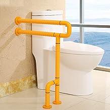 Roestvrij stalen drop-down-wandrail, veiligheidsrail voor badkamer, voor ouderen, gehandicapten, naast wc-handvat 60 cm × ...