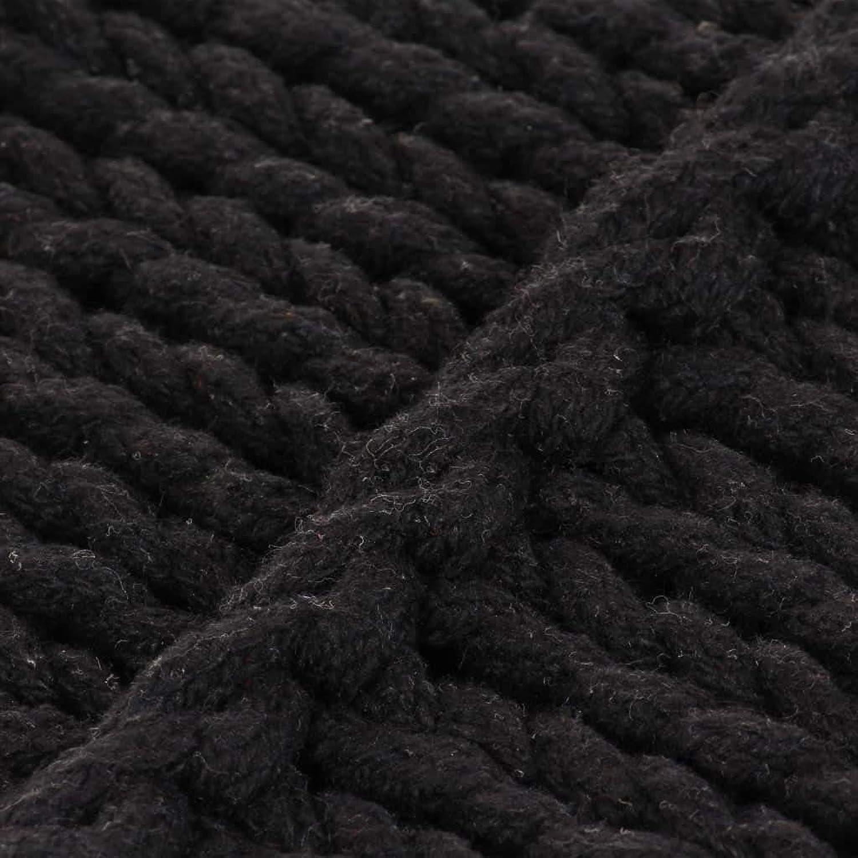 ventas en línea de venta Xings huoon Line–Cojín Line–Cojín Line–Cojín Decorativo (Suelo Asiento Cojín quadr. Punto algodón 60x 60cm Negro Almohada cojín  marca en liquidación de venta